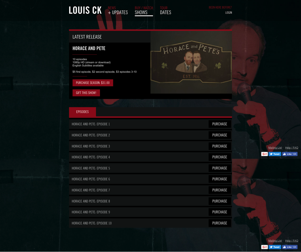 Louis-CK-as-an-html-form-horace-and-pete-newsletter-signup